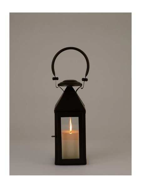 Linea Black lantern small
