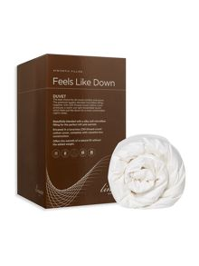 Linea Feels like down breathable duvet 13.5 tog as
