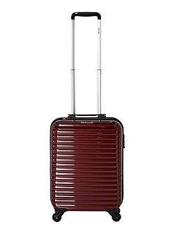 Axial elite burgandy 4 wheel hard cabin suitcase