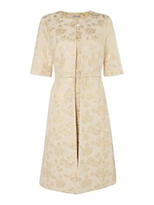 Shubette Two piece jacquard dress and jacket
