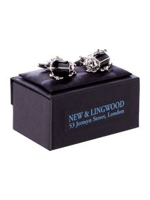 New & Lingwood Beetle Cufflink
