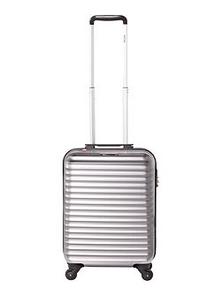 Axial elite silver 4 wheel hard cabin suitcase