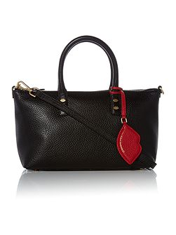 Frances Small Tote Bag with Lip Charm