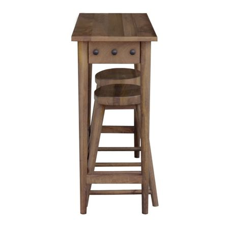 Linea Oliver bar table & 2 stools