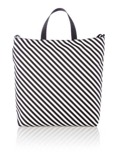 Lulu Guinness Lucy multi-coloured large anna doll face tote bag
