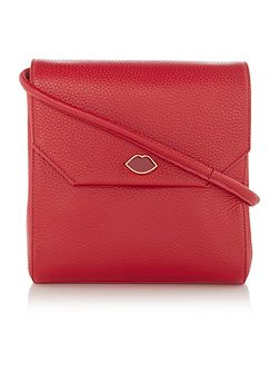 Gabrielle small red shoulder bag