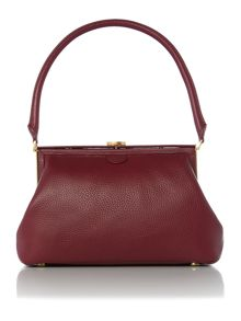Lulu Guinness Tabitha red medium shoulder bag