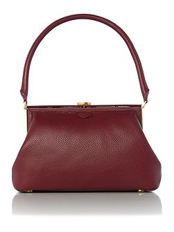 Tabitha red medium shoulder bag