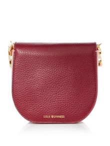 Lulu Guinness Amy 50:50 multi-coloured small shoulder bag