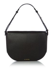 Lulu Guinness Rosie 50:50 black medium shoulder bag