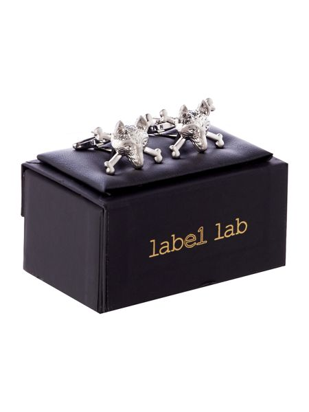Label Lab Fox Cross Cufflink