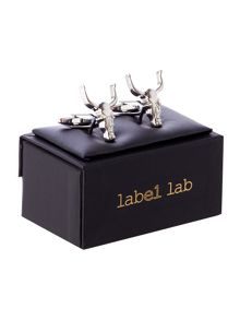 Label Lab Rams Head Cufflink