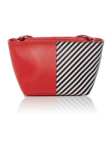Lulu Guinness Pixie 50:50 multi-coloured small shoulder bag