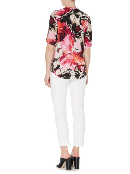 Episode Abstract print blouse
