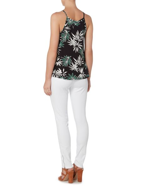 Therapy Palm Print Jersey Top