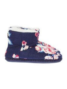 Dickins & Jones Eloise Floral Slipper Boot