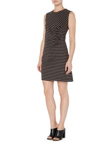 Therapy Astride Stripe Bodycon Dress