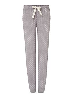 Dispersed geo cuffed pyjama pant