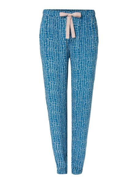 Calvin Klein Etched animal pyjama cuffed pant