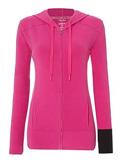 Hooded top with Zip