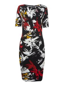 Therapy Darcey Floral Printed Jersey Dress