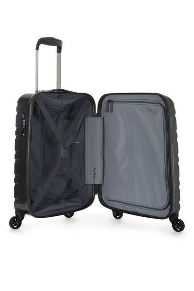 Antler Prism charcoal 4 wheel hard cabin suitcase