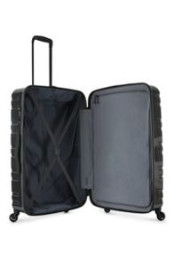 Antler Prism charcoal 4 wheel hard large suitcase