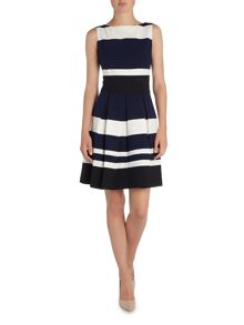 Lauren Ralph Lauren Keyla 3 Tone Sleeveless Dress