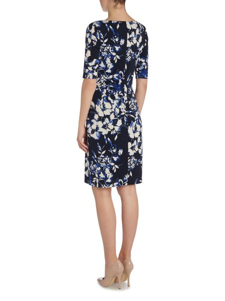 Lauren Ralph Lauren Carleton 3/4 Sleeve Dress