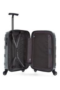 Antler Atom charcoal 4 wheel hard cabin suitcase