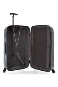 Antler Atom charcoal 4 wheel hard large suitcase