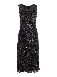 Shubette All over sequin kick hem dress