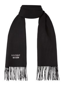 Boutique Moschino Diamante logo scarf