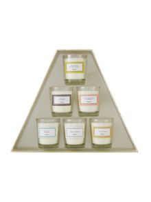 Linea Pyramid candle gift set