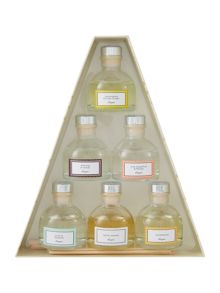 Linea Pyramid diffuser gift set