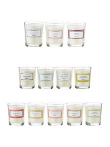 Linea 12 days of Christmas candle gift set