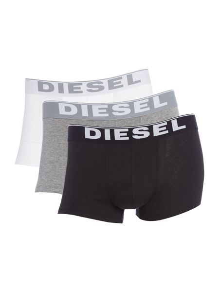 Diesel 3 pack Solid Colour Trunk