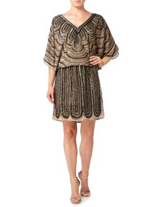 Biba Fully embellished waisted dress