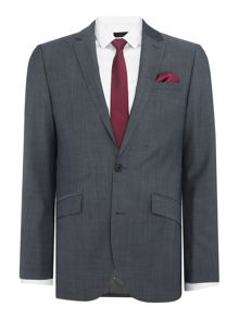 Kenneth Cole Byram twill travel suit jacket