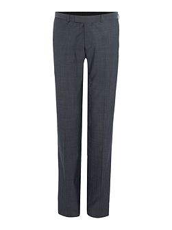 Byram denim twill travel suit trousers