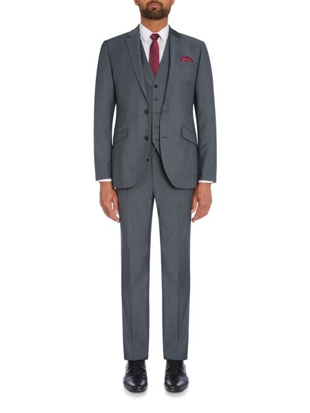 Kenneth Cole Byram travel suit waistcoat