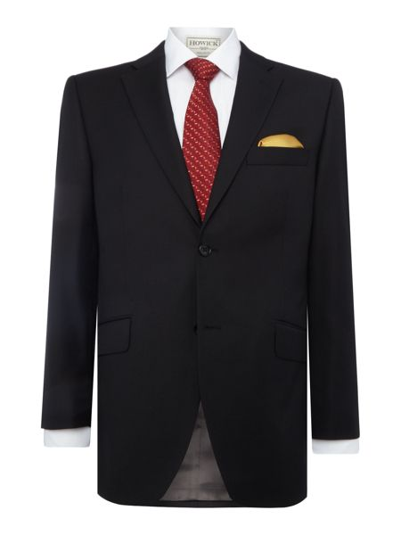 Howick Tailored Fenwick SB2 Twill suit jacket with notch lapel
