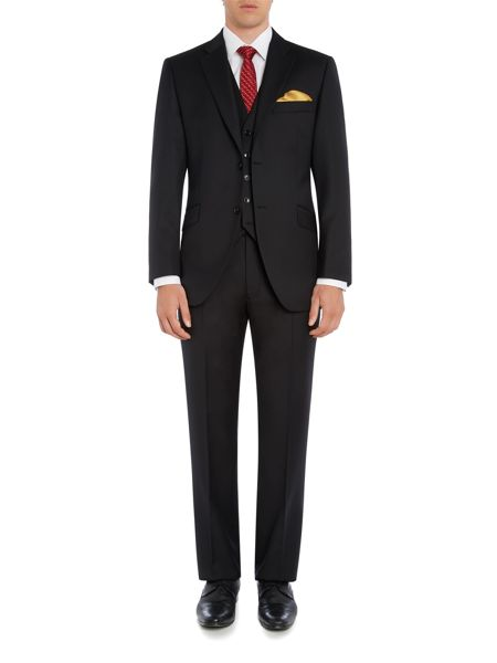 Howick Tailored Fenwick twill suit trousers