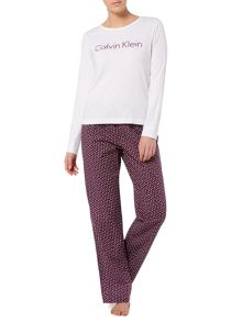 Calvin Klein Purple spotted holiday gift set