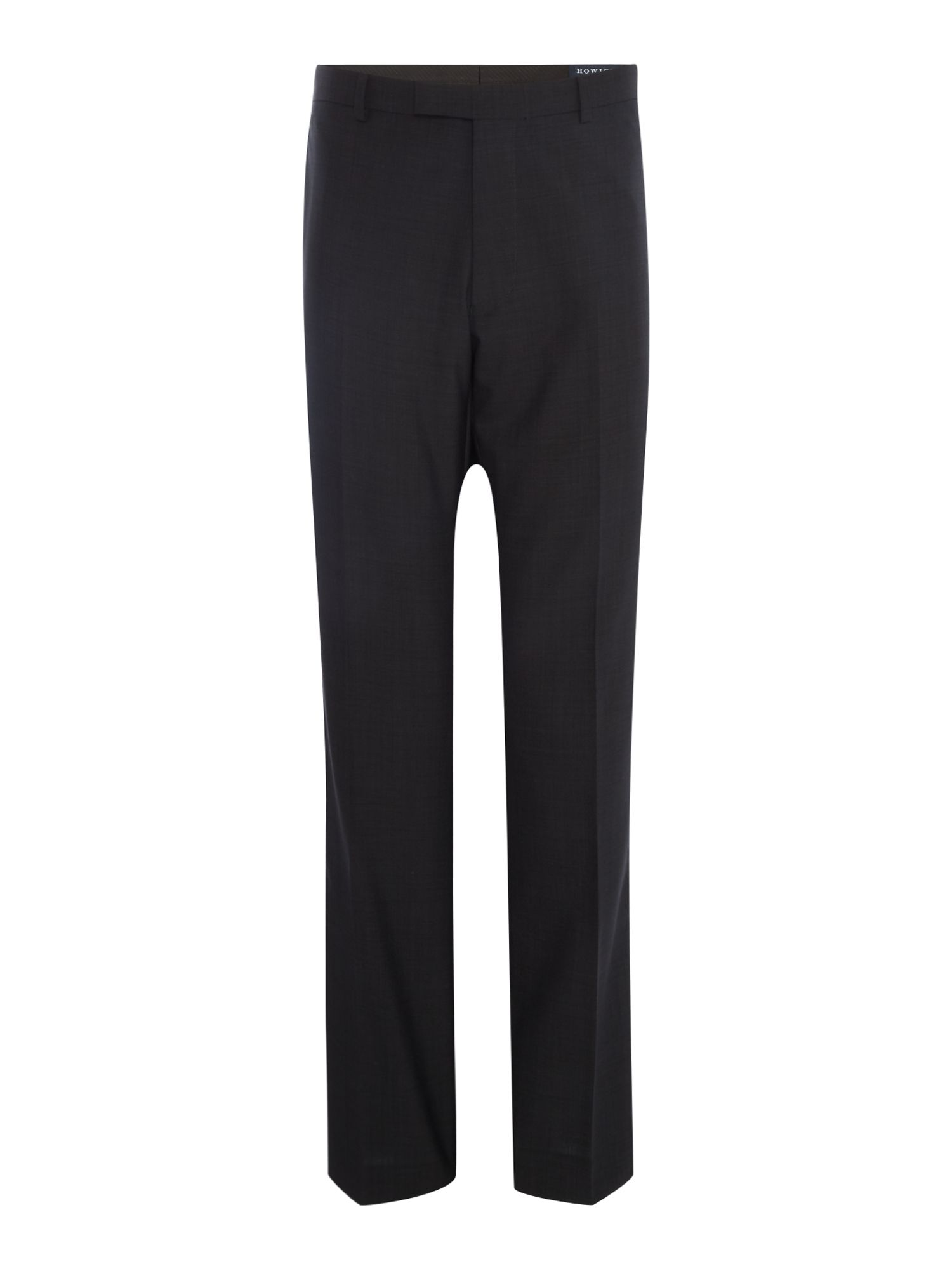 Howick Tailored Men's Howick Tailored Delaware suit trousers, Charcoal