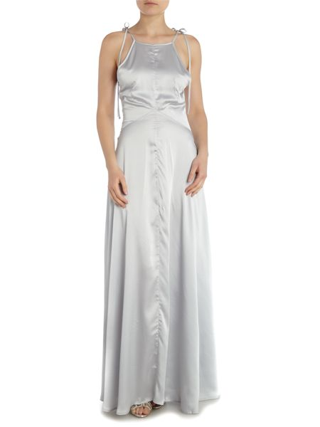 Vero Moda Beatric sleeveless satin maxi dress