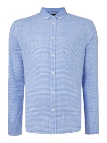 Criminal Heath Mini Gingham Shirt