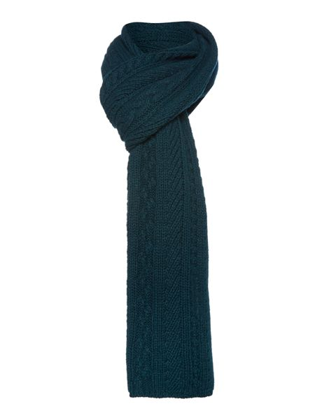 Ted Baker Locdale Cable and Rib Scarf