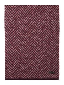 Ted Baker Hide Reversible Herringbone Wool Scarf