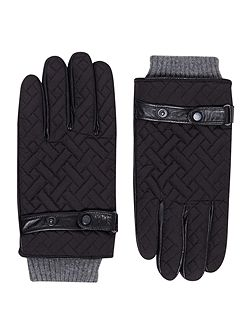 Ahmet Cross Hatch Quilted Gloves